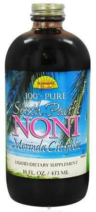 DROPPED: Dynamic Health - Noni Juice South Pacific 100% Pure Morinda Citrifolia - 16 oz. CLEARANCE PRICED