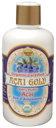 DROPPED: Dynamic Health - Acai Gold 100% Pure Organic Juice - 16 oz. CLEARANCE PRICED