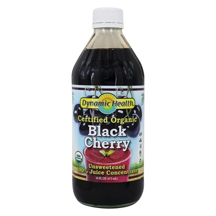 Dynamic Health - Juice Concentrate 100% Pure Black Cherry - 16 oz.