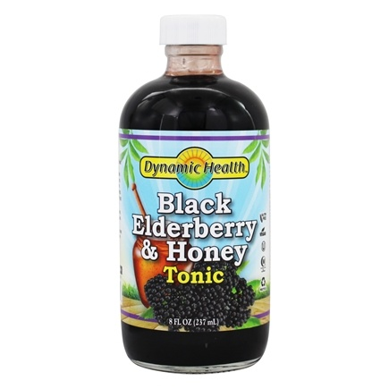 Dynamic Health - Black Elderberry Liquid Extract - 8 oz.