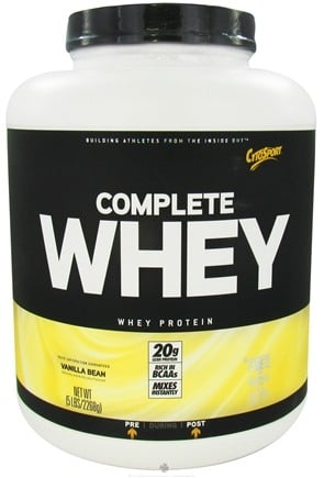 DROPPED: Cytosport - Complete Whey Protein Vanilla Bean - 5 lbs. CLEARANCE PRICED