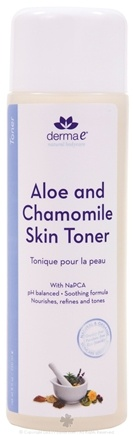 DROPPED: Derma-E - Aloe and Chamomile with NaPCA Soothing Skin Toner - 8 oz.
