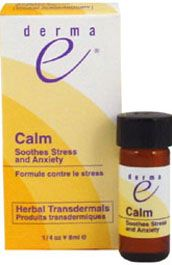 DROPPED: Derma-E - Calm Herbal Transdermal - Soothes Stress and Anxiety - 0.25 oz.