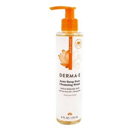 Derma-E - Very Clear Acne Cleanser - 6 oz. Formerly Problem Skin Cleanser/LUCKY PRICE