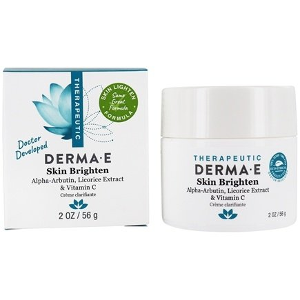 Derma-E - Skin Lighten Natural Fade and Age Spot Creme - 2 oz.