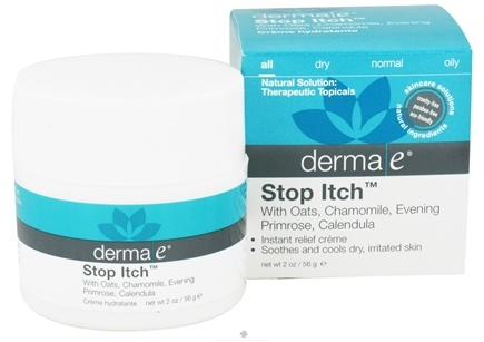 DROPPED: Derma-E - Stop Itch Instant Relief Creme - 2 oz.
