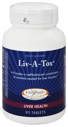DROPPED: Enzymatic Therapy - Liv-A-Tox - 90 Tablets