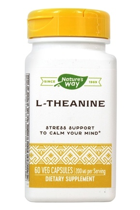Enzymatic Therapy - Suntheanine L-Theanine 100 mg. - 60 Vegetarian Capsules
