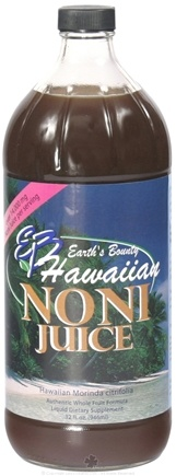 DROPPED: Earth's Bounty - Hawaiian Noni Juice - 32 oz.