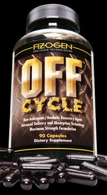 DROPPED: Fizogen - Off Cycle - Non-Androgenic/Anobolic Recovery Agent - 90 Capsules