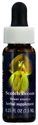 DROPPED: Flower Essence Services - Scotch Broom Flower Essence - 0.25 oz. CLEARANCE PRICED