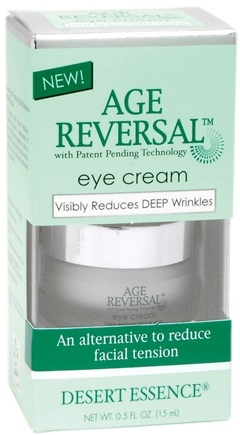 DROPPED: Desert Essence - Age Reversal Eye Cream - 0.5 oz.