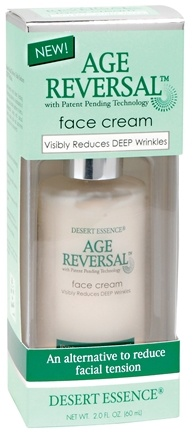 DROPPED: Desert Essence - Age Reversal Face Cream - 2 oz.
