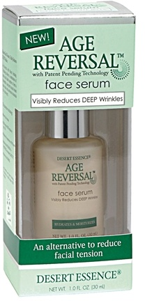 DROPPED: Desert Essence - Age Reversal Face Serum - 1 oz.