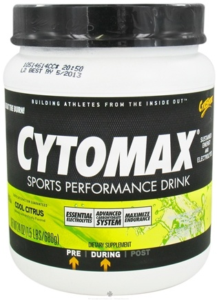 DROPPED: Cytosport - Cytomax Sports Performance Drink Cool Citrus - 24 oz. CLEARANCE PRICED