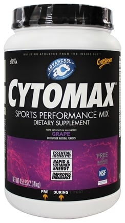 Cytosport - Cytomax Sports Performance Drink Go Grape - 4.5 lbs.