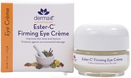 DROPPED: Derma-E - Ester-C Firming Eye Creme - 0.5 oz.