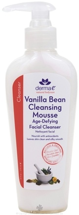 DROPPED: Derma-E - Facial Cleanser Age-Defying Vanilla Bean Cleansing Mousse - 4 oz.