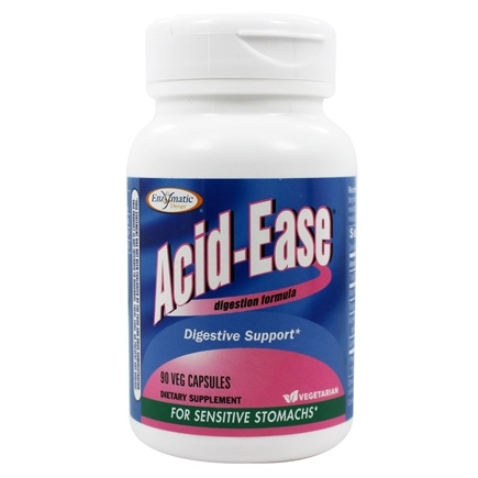 Enzymatic Therapy - Acid-Ease Digestion Formula - 90 Ultracap(s)