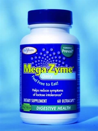 DROPPED: Enzymatic Therapy - Dairy Mega-Zyme - 60 Ultracap(s)