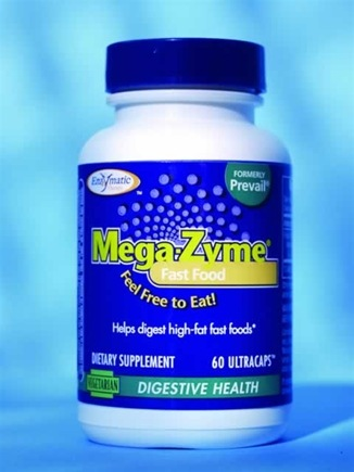 DROPPED: Enzymatic Therapy - Fast Food Mega-Zyme - 60 Ultracap(s)