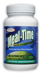 DROPPED: Enzymatic Therapy - Mega-Zyme Meal Time - Improved Vitase - 90 Ultracap(s)