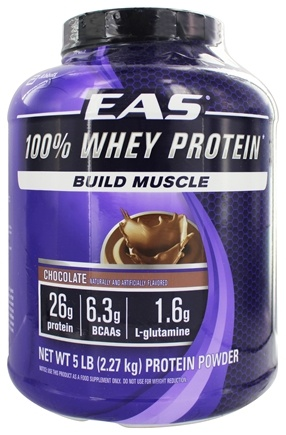EAS - 100% Whey Protein Chocolate - 5 lbs.