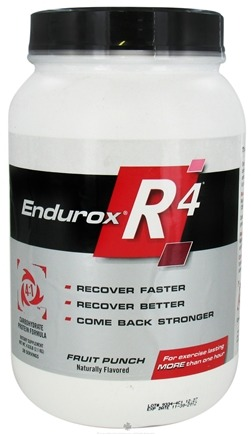 DROPPED: Endurox - R-4 Carbohydrate Protein Formula Fruit Punch - 4.63 lbs.