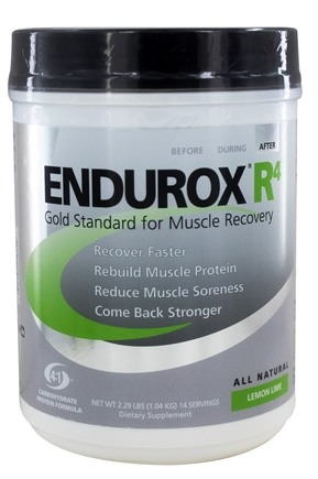 DROPPED: Endurox - R-4 Carbohydrate Protein Formula Lemon-Lime - 2.31 lbs. CLEARANCE PRICED