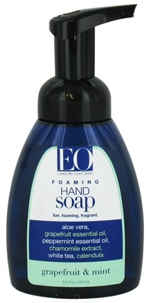 DROPPED: EO Products - Foaming Hand Soap Grapefruit & Mint - 8.5 oz.