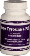 DROPPED: FTH Nutraceuticals - Pure Tyrosine + P5P 710 mg. - 50 Vegetarian Capsules