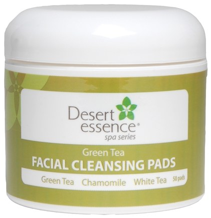 DROPPED: Desert Essence - Green Tea Facial Cleansing Pads - 50 Pad(s)