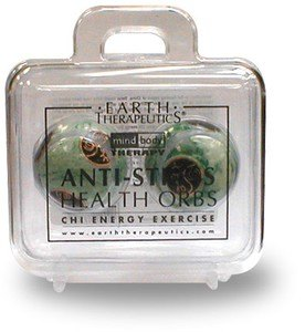 DROPPED: Earth Therapeutics - Anti-Stress Health Orbs - 2 Orbs - CLEARANCE PRICED