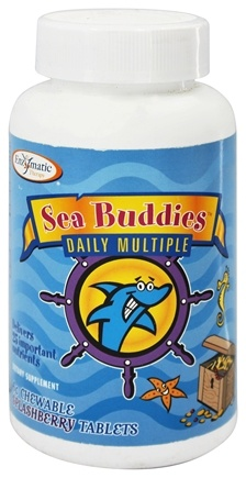 DROPPED: Enzymatic Therapy - Sea Buddies Daily Multiple Splashberry - 60 Chewable Tablets