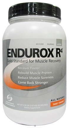DROPPED: Endurox - R-4 Natural Recovery Drink Tangy Orange - 4.56 lbs. (formerly Carbohydrate Protein Formula)