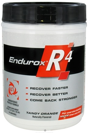 DROPPED: Endurox - R-4 Carbohydrate Protein Formula Tangy Orange - 2.31 lbs. CLEARANCE PRICED