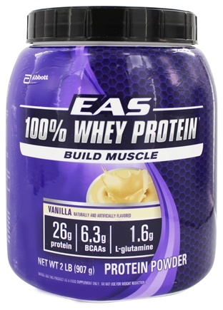 DROPPED: EAS - 100% Whey Protein Powder Vanilla - 2 lbs.