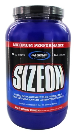DROPPED: Gaspari Nutrition - SizeOn Maximum Performance Wild Berry Punch - 3.49 lbs.