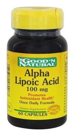 Good 'N Natural - Alpha Lipoic Acid 100 mg. - 60 Capsules