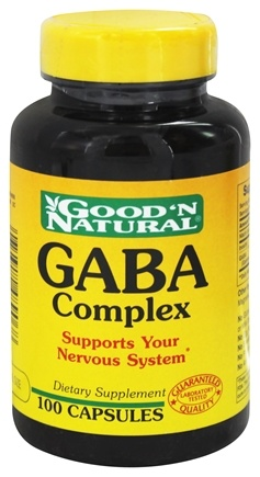 Good 'N Natural - GABA Complex - 100 Capsules