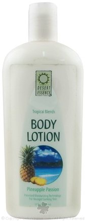 DROPPED: Desert Essence - Pineapple Passion Body Lotion - 12 oz.