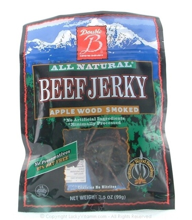 DROPPED: Double & Foods - Spicy Beef Jerky Apple Wood Smoked - 3.5 oz.