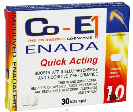 DROPPED: Dr. Birkmayer - CoE1 NADH 10 mg. - 30 Lozenges Formerly Internal Power CLEARANCE PRICED