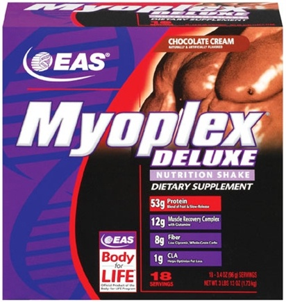 DROPPED: EAS - Myoplex Deluxe Vanilla Cream - 18 Packet(s)