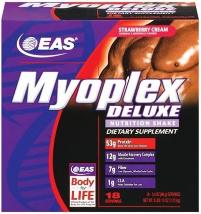 DROPPED: EAS - Myoplex Deluxe Variety - 36 Packet(s) CLEARANCE PRICED
