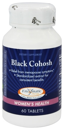 Enzymatic Therapy - Black Cohosh - 60 Tablets