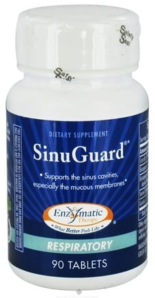 DROPPED: Enzymatic Therapy - SinuGuard - 90 Tablets