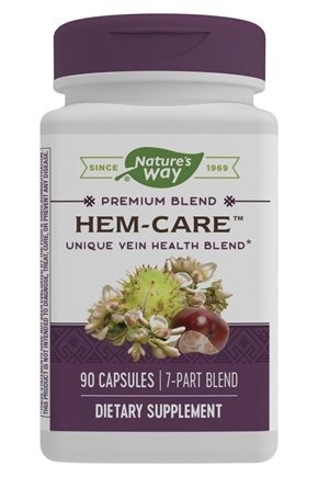 Enzymatic Therapy - Hem-Care Vein Health - 90 Capsules