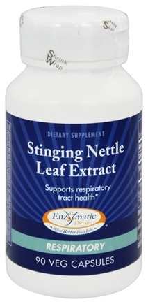 Enzymatic Therapy - Stinging Nettle Leaf Extract - 90 Vegetarian Capsules