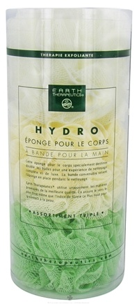 DROPPED: Earth Therapeutics - Hydro Body Sponge with Hand Strap - 3 Pack(s)